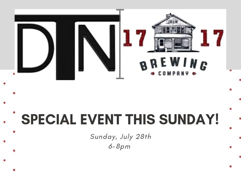 Special Event This Sunday!