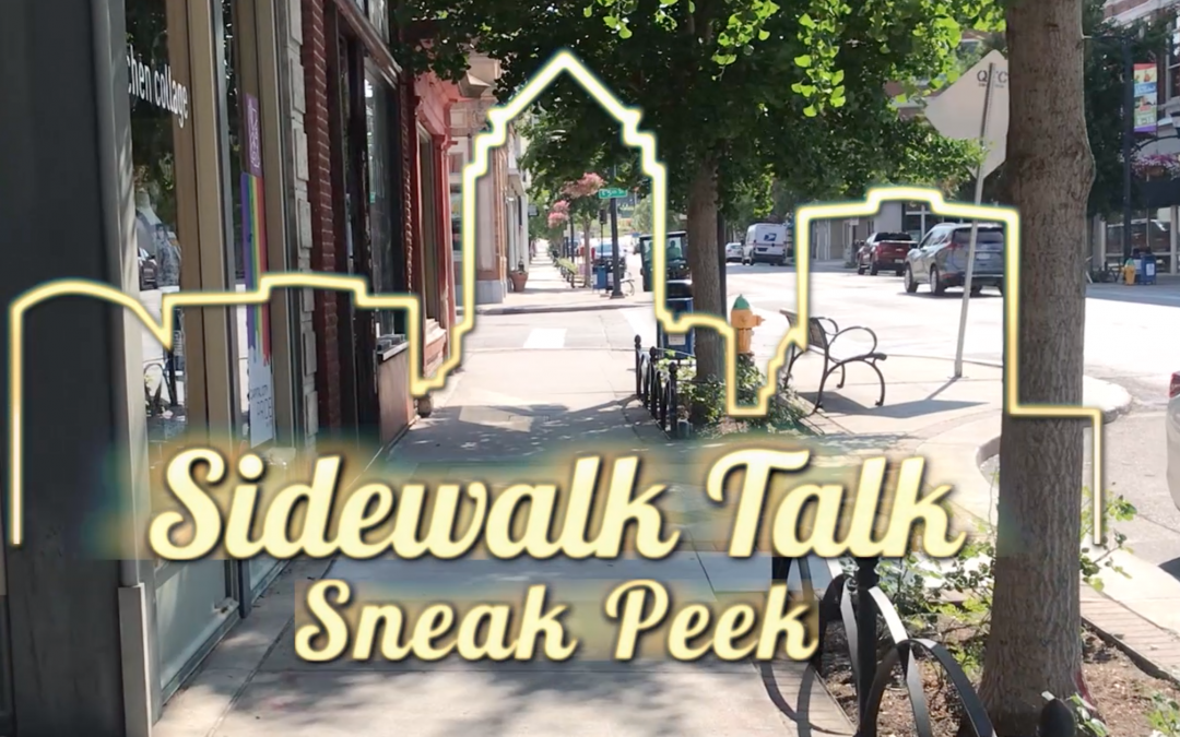 SNEAK PEEK – Sidewalk Talk Episode 2!